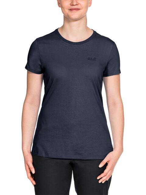 Jack Wolfskin Essential - T-shirt manches courtes Femme - bleu